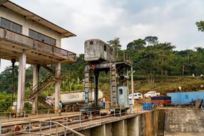 Installations du barrage