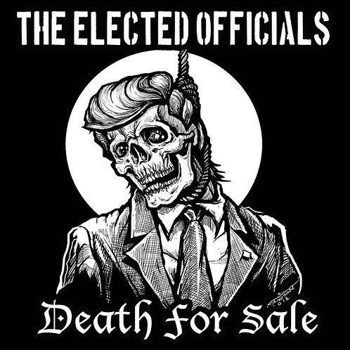 Death for Sale Backpatch hanging Trump