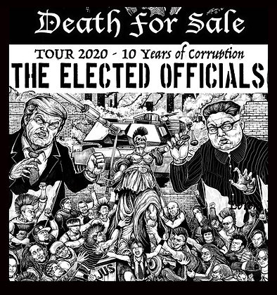 The Elected Officials Death For Sale shirt