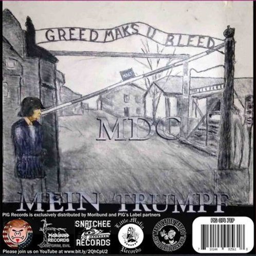 MDC / The Elected Officials split 7""
