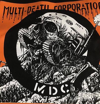 Orange Multi Death Corporation  Shirt