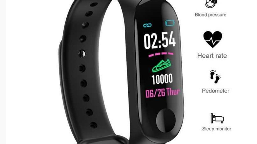 Smartwatch With Heart Rate, Blood Pressure and Sleep Monitoring