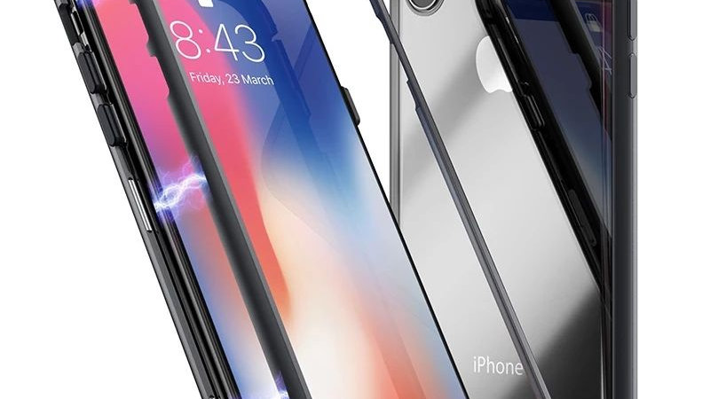 Clear Magnetic Case for iPhone 7 up to XS Max
