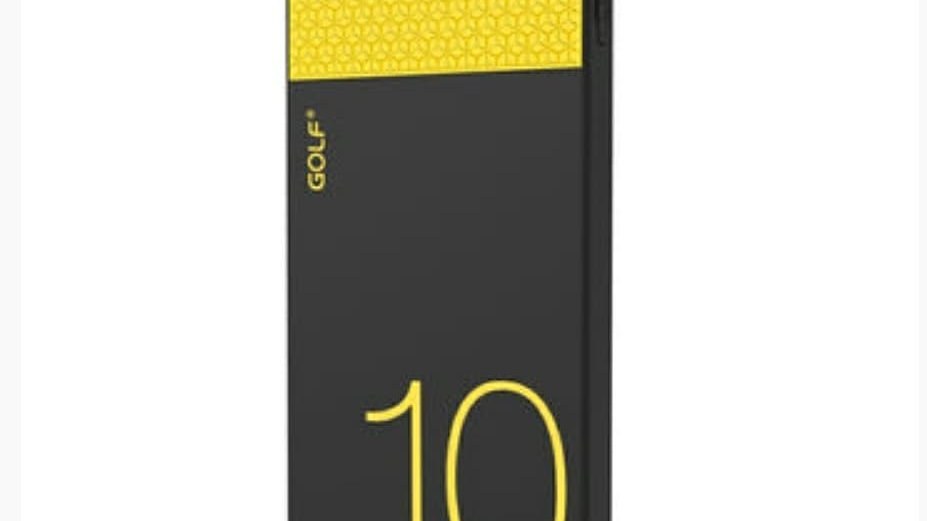 BRAND NEW GOLF 10000mAh POWER BANK