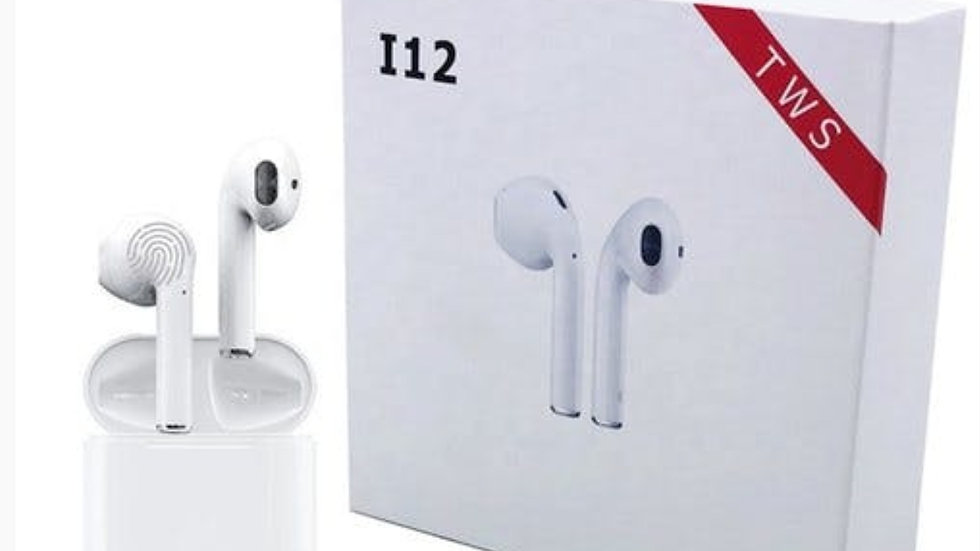 BRAND NEW I12 TWIN WIRELESS BLUETOOTH EARBUDS