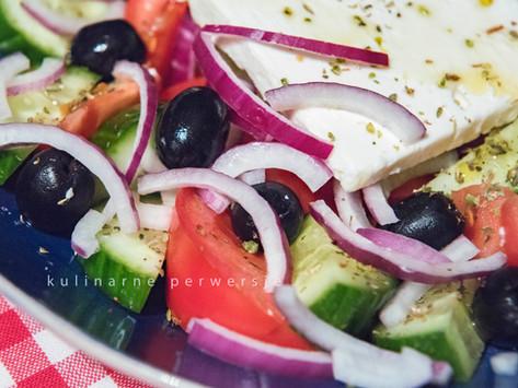 Choriatiki, czyli jedyna prawdziwa sałatka grecka - pięć żelaznych zasad!
