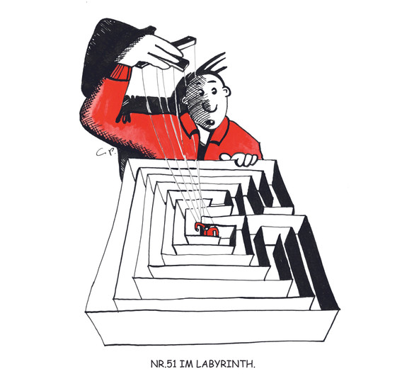 51 Im Labyrinth