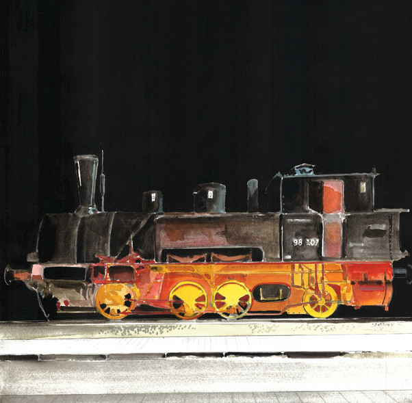 24 Lokalbahnlokomotive - verkauft