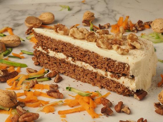 Keto Zucchini & Carrot Cake