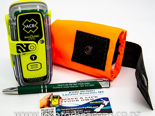 ACR ResQLink PLB - 400 NZ Personal Locator Beacon, plus free pouch