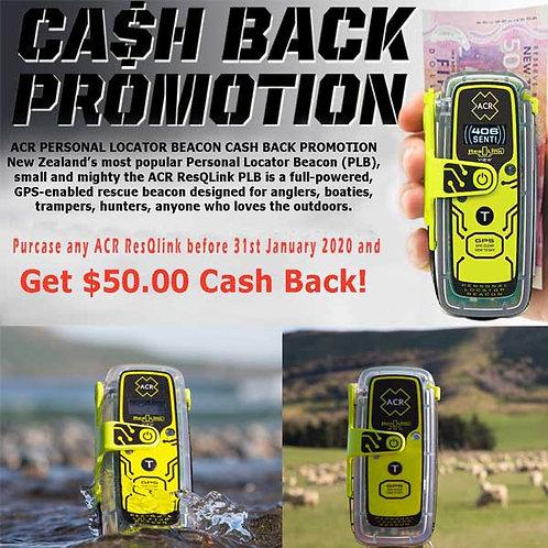 $50 Cash Back Promotion Ends 31st January 2021