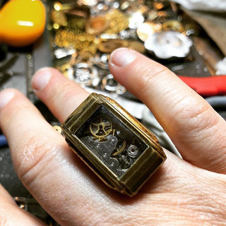 Ring of the Day - Day 2 - Art Deco. Doin