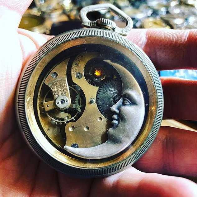 """Day 1 of """"a Pocket Watch a Day Challenge"""