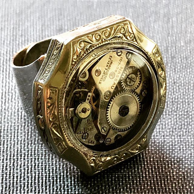 Ring of the Day - Day 3 - Engraved Art D