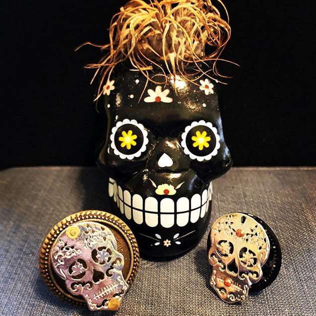 Ring of the Day - Day 4 - Sugar Skulls (