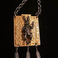 Rabbit in Wonderland Necklace  #dapperwa