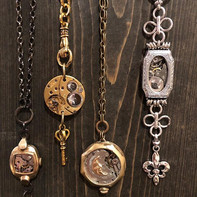 Latest necklaces & earrings. Come see me