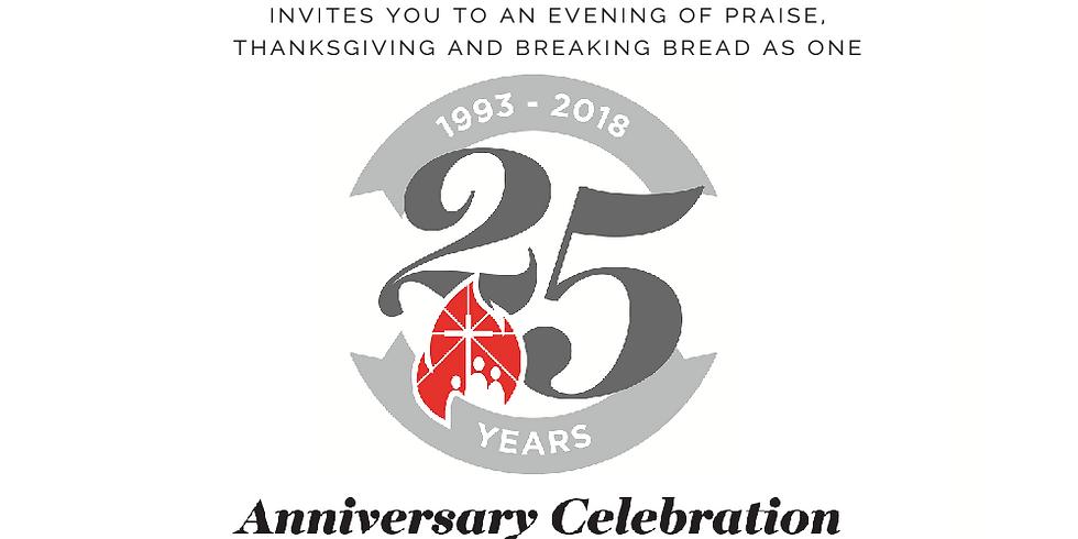 FFCC 25th Anniversary Dinner Celebration