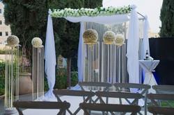 אולם לחתונה קטנה במרכז