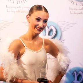 Shaye Cadicott, Winner of the Dancer Award