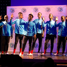 The exceptional acapella group, The Dailie Dreamers