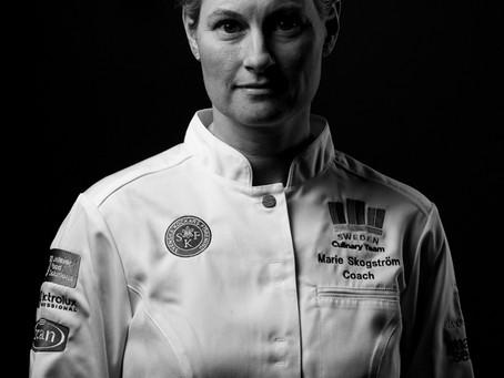 Marie Skogström coach för Svenska Kocklandslaget