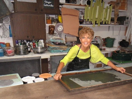 """Del Foxton's Handmade Paper Art Brings """"Recycled"""" to a New Level"""
