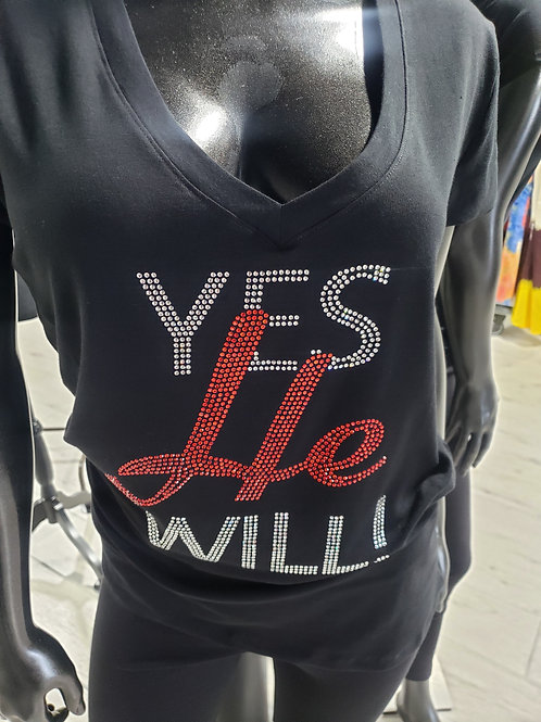 YES HE WILL