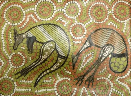 328 - Emu & Kangaroo - Bown.JPG