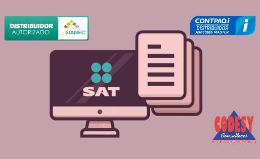 Corrige SAT catálogos para Contabilidad Electrónica 2019