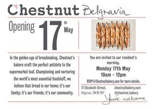 Chestnut Bakery opening!