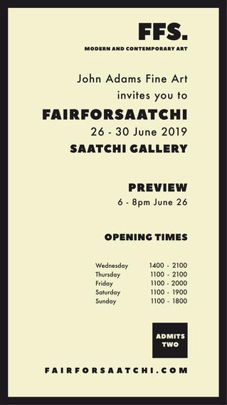 John Adams Fine Art @ Fair For Saatchi