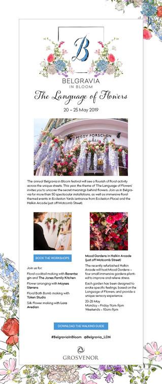 Belgravia in Bloom events