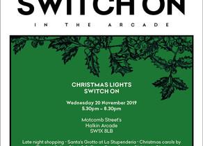 20 November - Motcomb Street Christmas Lights