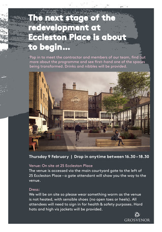 Eccleston Place is about to transform!