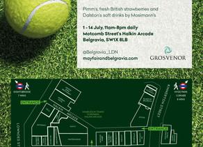 Wimbledon comes to Belgravia!