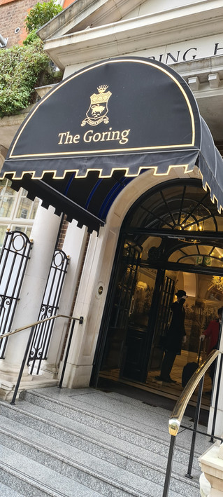 The Goring is open!