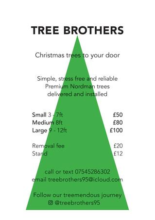 Christmas tree to your door!