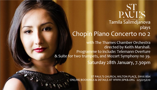 Two exciting concerts at St Paul's Church