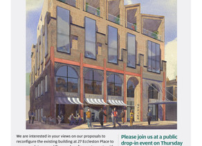27 Eccleston Place - come and see the proposals this Thursday, 28th March