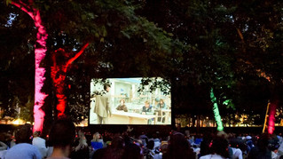 Films Under the Stars on Grosvenor Sq