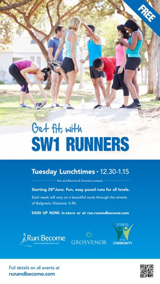 Get more active - Fitness in the Community and SW1 Runners