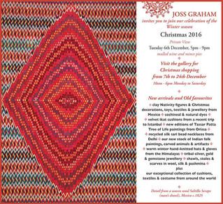 JOSS GRAHAM's Christmas celebrations