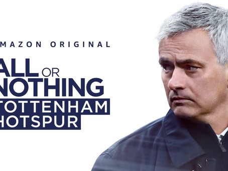 Športne serije in bližji pogled v All or Nothing: Tottenham Hotspur