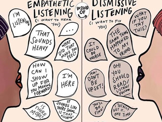 Empathetic v.s. Dismissive Listening