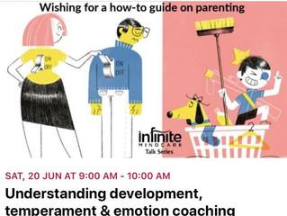 EVENT: Understanding development, temperament, and emotion coaching