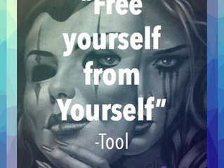 """Free yourself from yourself."""