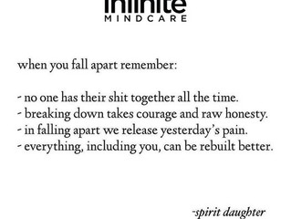 When you fall apart...