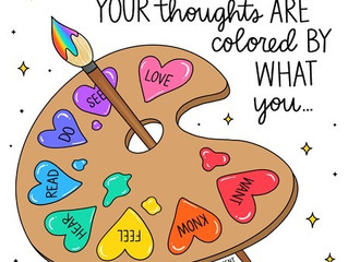 How do you color your thoughts?
