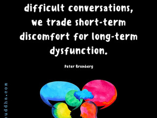 Facing discomfort